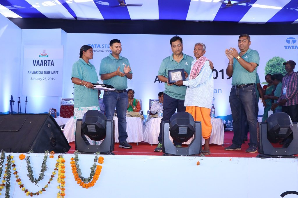 Tata Steel urges youth, farmers to save water