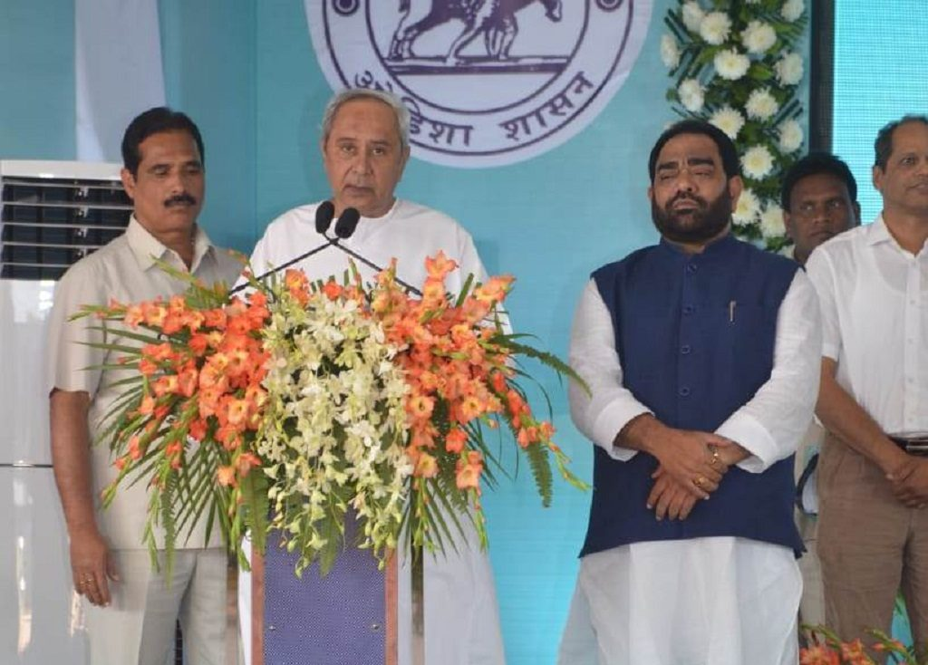 Patnaik launches multiple development projects in Ganjam and Boudh