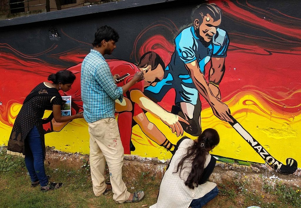 Infra boost for hockey, food fest bring cheers to Bhubaneswar (Special)