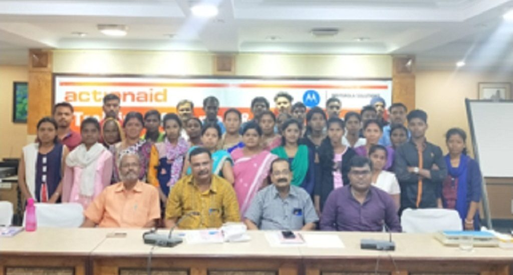 First aid programme initiated by ActionAid and Motorola Foundation
