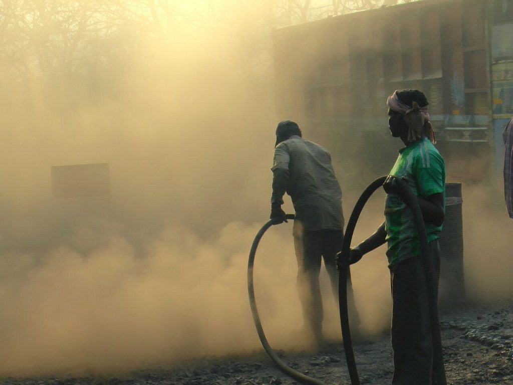 Paradip residents smothered in coal, gypsum dust