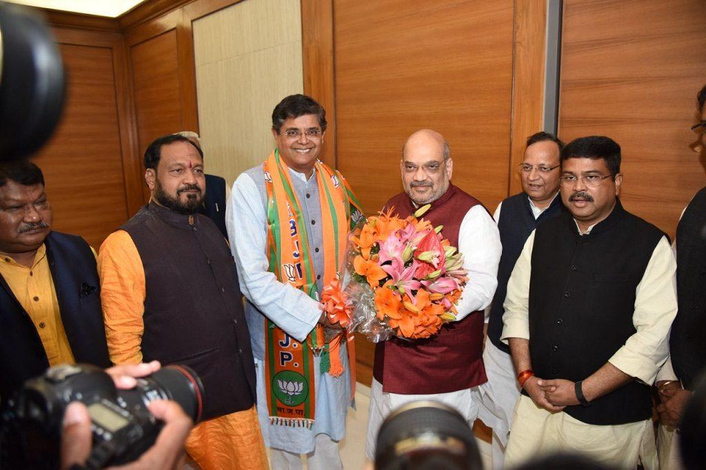 Mixed reaction in Kendrapara over Jay Panda joining BJP