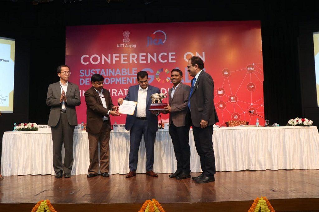 Gajapati district bags NITI Aayog award; extra funds