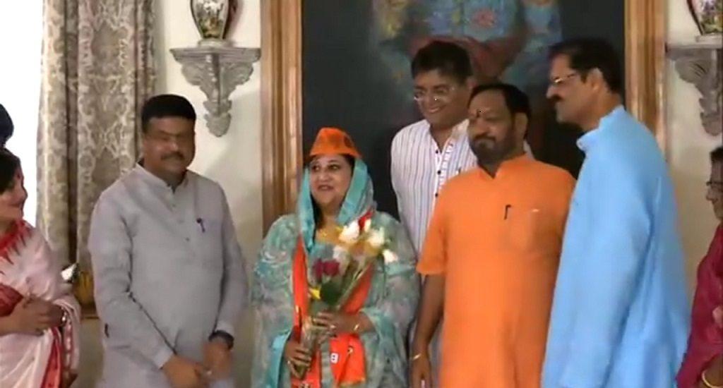 Kandhamal MP Pratyusha Rajeshwari Singh joins BJP