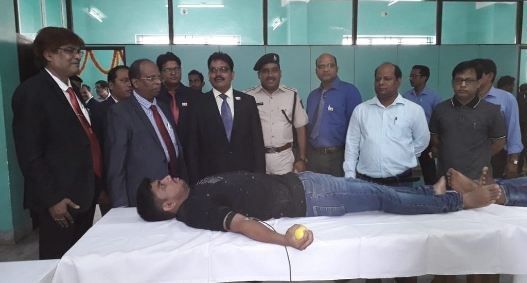 ICAI organizes blood donation camp
