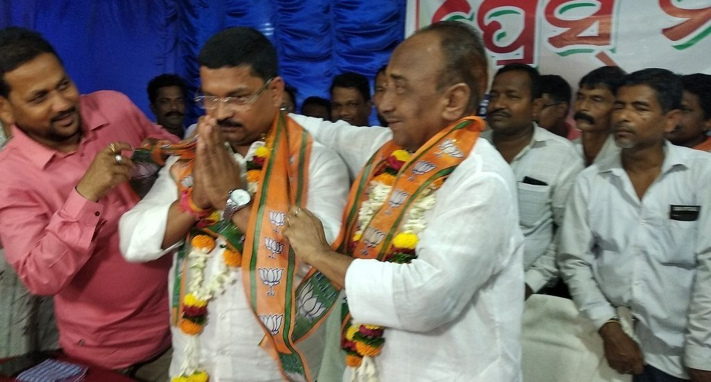 BJD state general secretary defects party; joins BJP