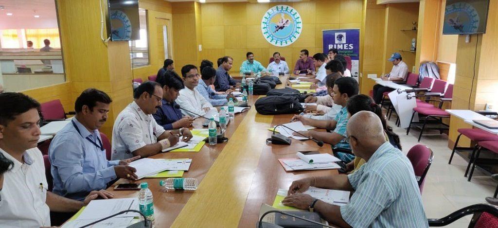 Flood management programme held by OSDMA
