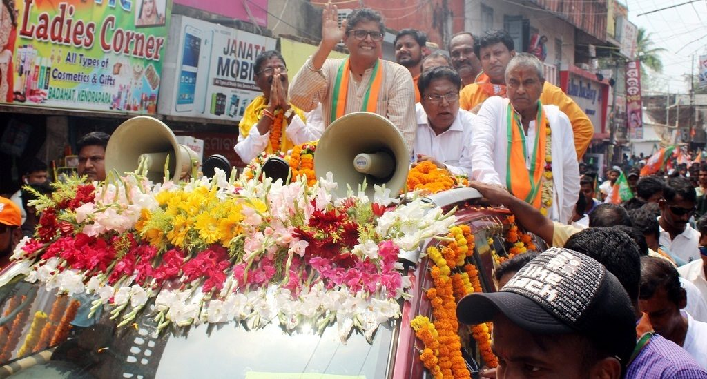 Jay Panda hoping for hat-trick, files nomination papers