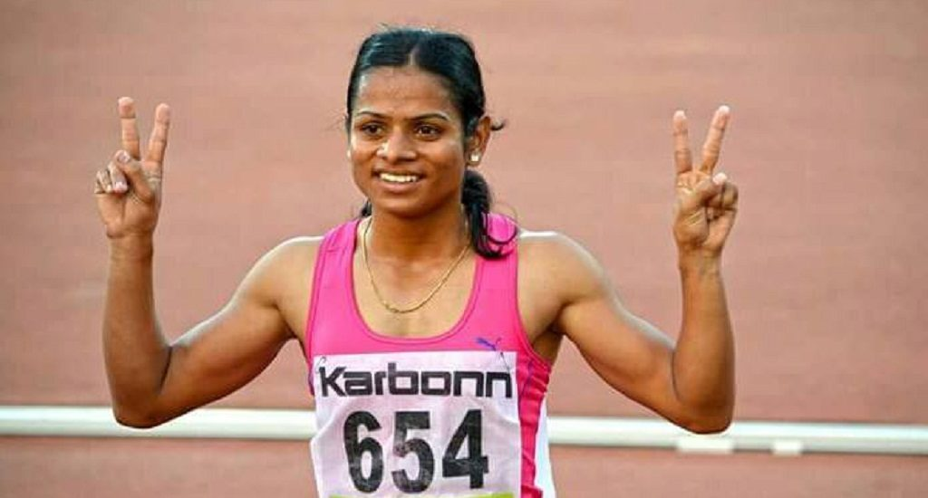 Gay and happy: Sprint queen Dutee Chand admits of being in a lesbian relationship