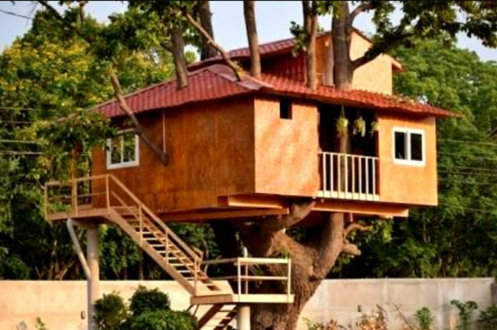 Keonjhar man builds tree house to promote green cause