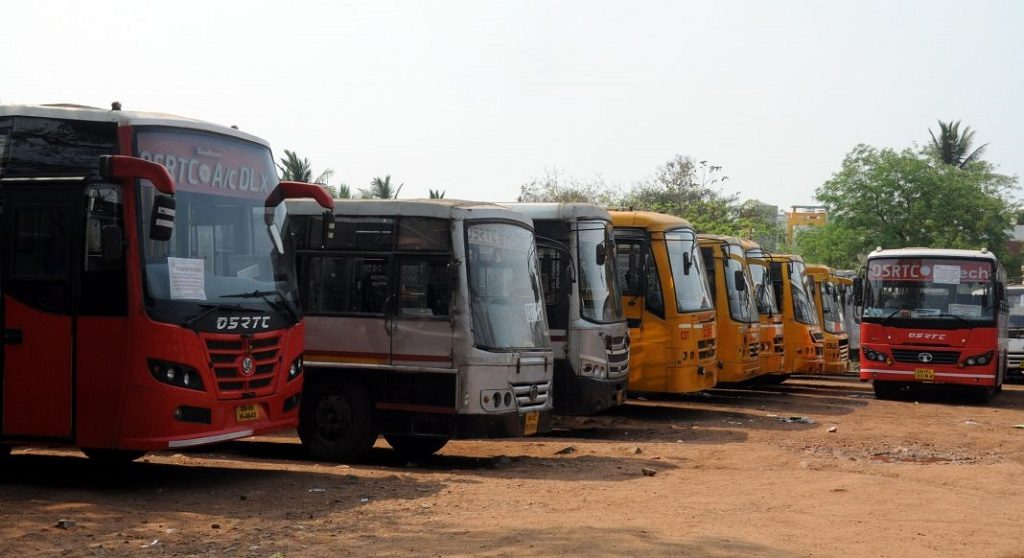 State bans movement of all categories of buses in state