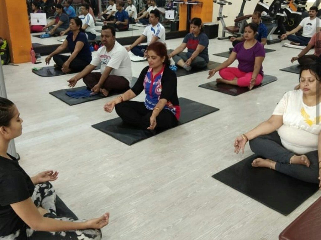 Odisha's youngest yoga instructor inspires students of all age groups
