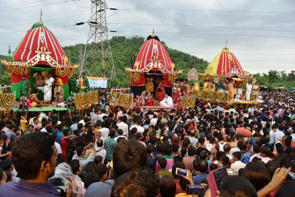 Rathayatra celebrated at Shrivani Kshetra