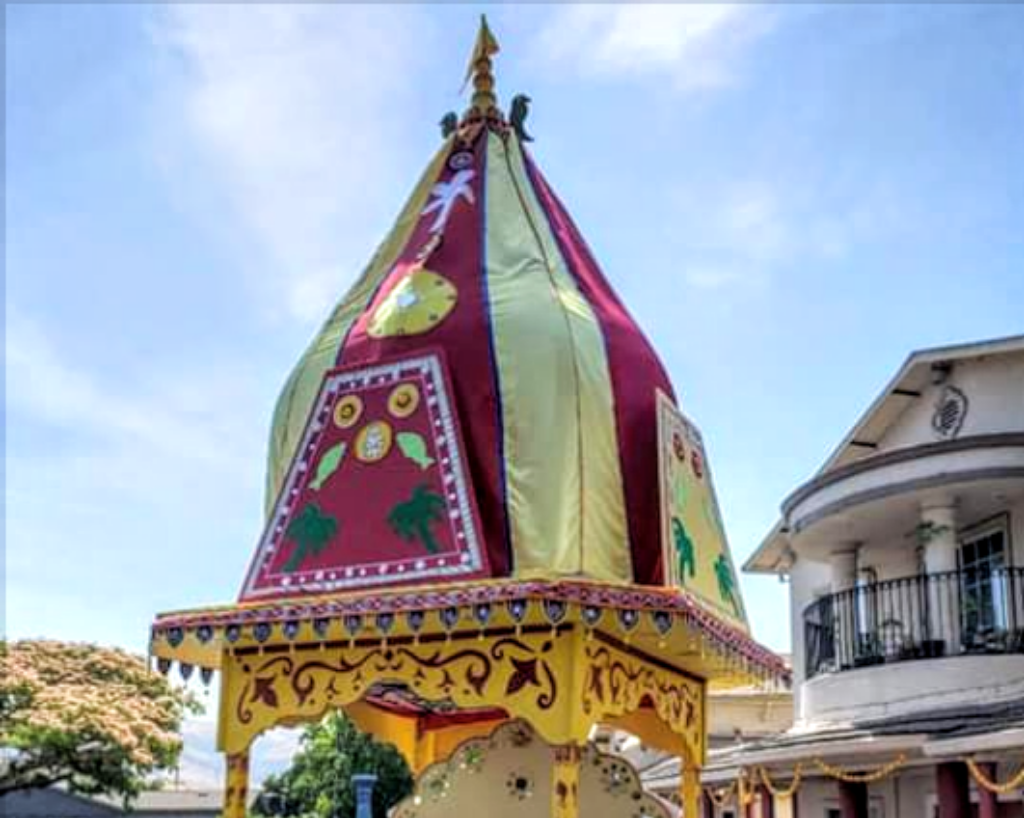Odias in California take out Rath Yatra in Fremont