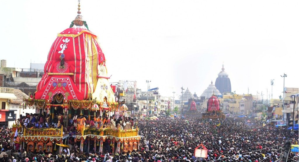 Lord Jagannath, siblings to appear in 'Suna Besha' today