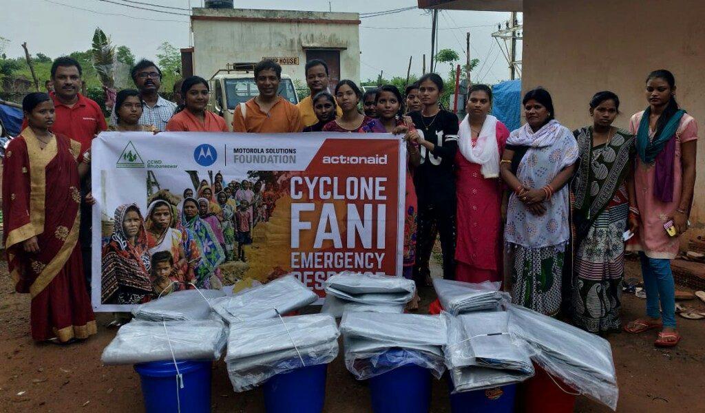 ActionAid distributes 200 education kits at Patharbandh slum