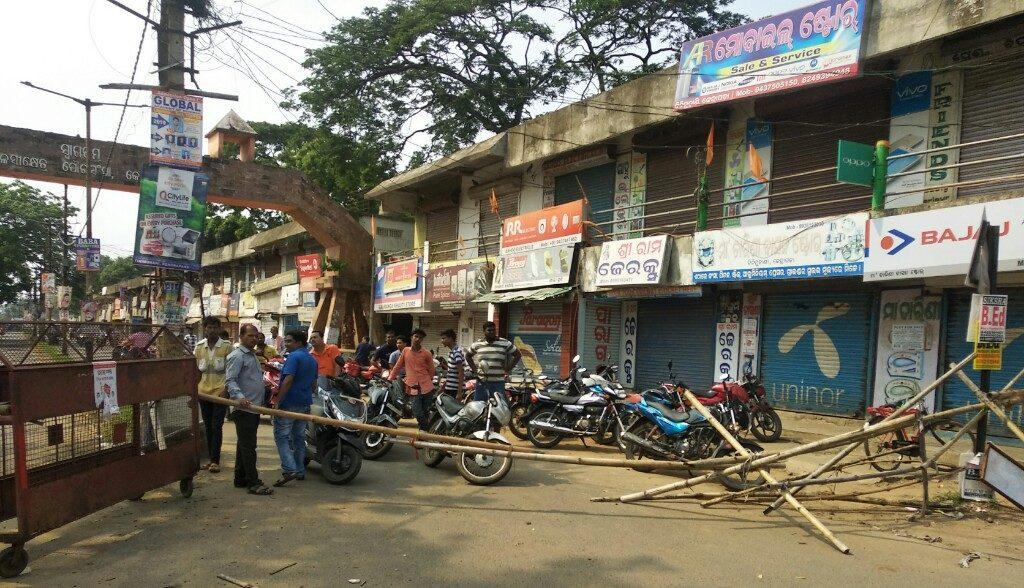 VHP Bandh paralyses normal life in Kendrapara