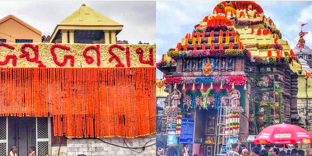 Its flower decoration all the way for Rath Yatra