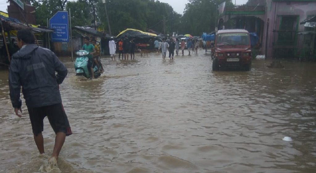 Villagers heave a sigh of relief as water level falls