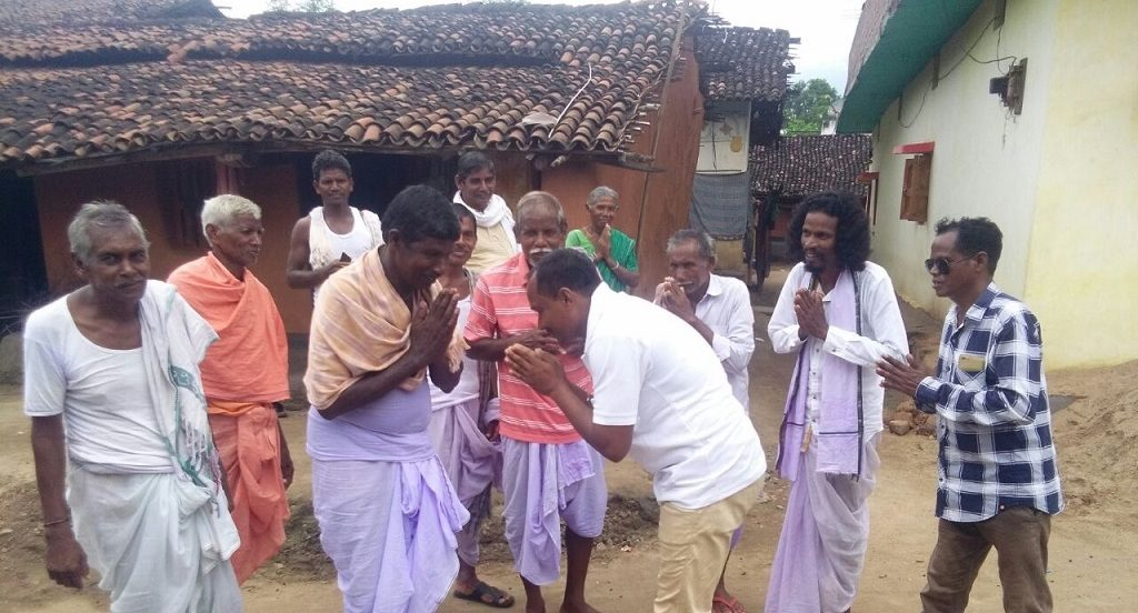 Three villages differ from the rest, observe Nuakhai early