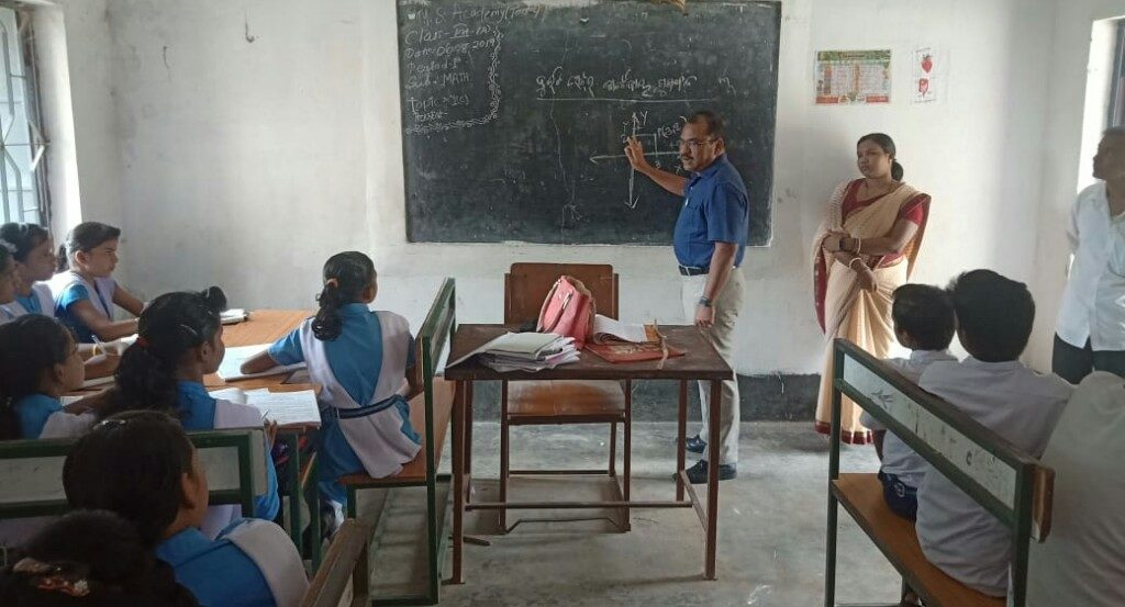 Jagatsinghpur Collector exhorts for quality education in schools