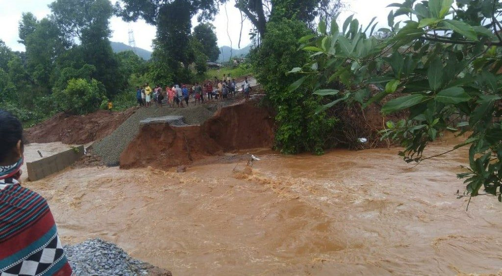 As flood water recedes, villagers face neck-deep misery