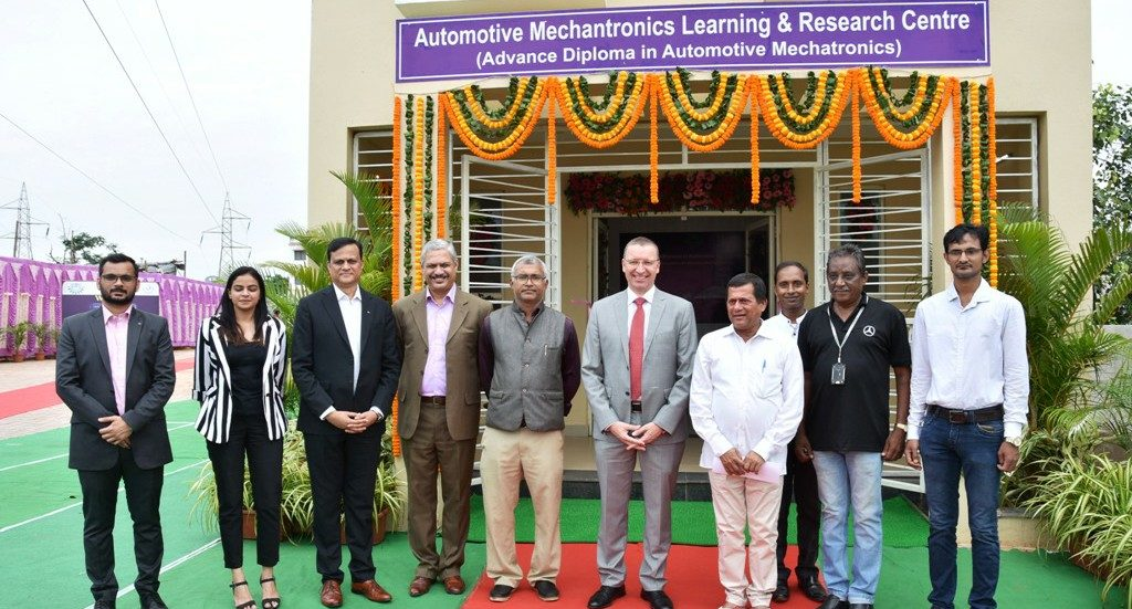 Mercedes-Benz India CEO opens research centre at KIIT