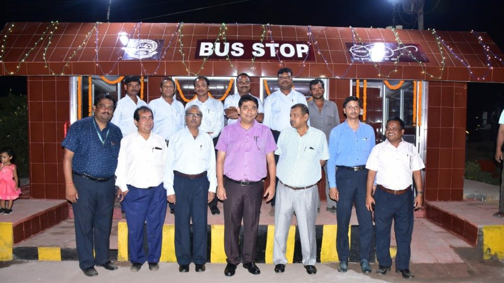 Renovated bus stop inaugurated in Paradip