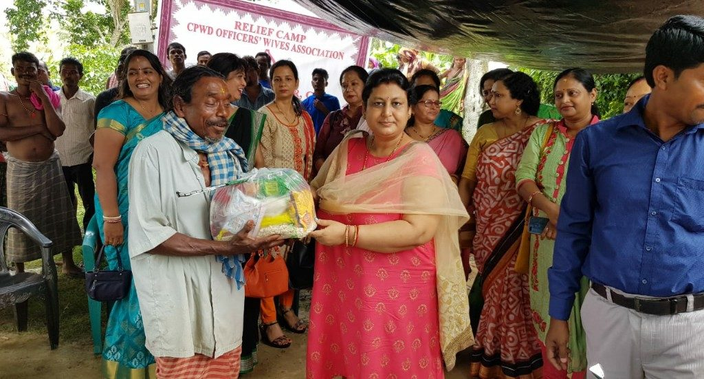 CPWD Officers Wives Association organises Fani relief work