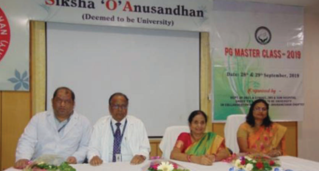 PG master class held for gynaecology students