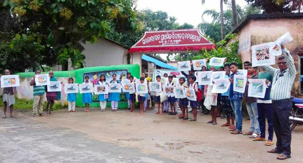 Children demand action to mitigate climate change issues