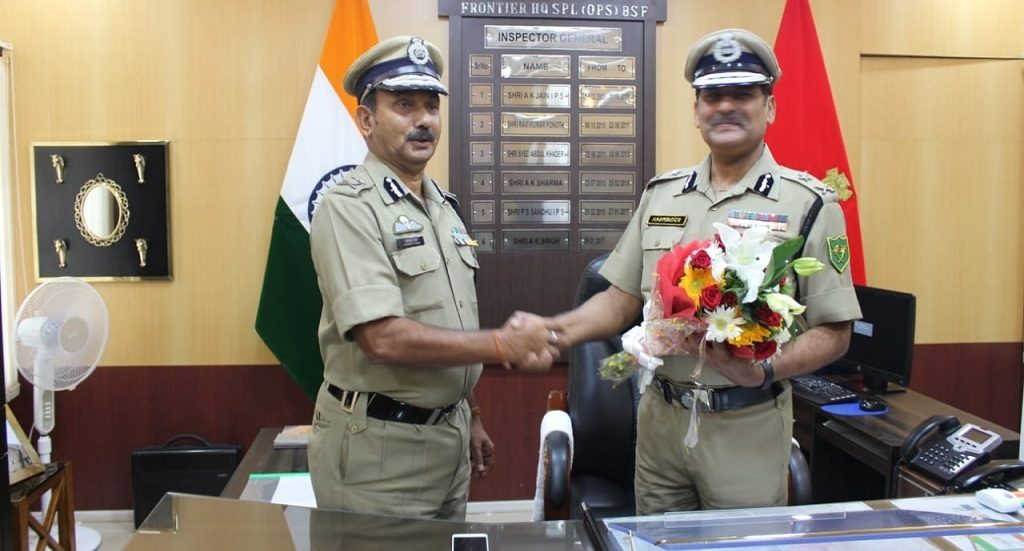 Harminder Pal is the new BSF frontier commander in Odisha