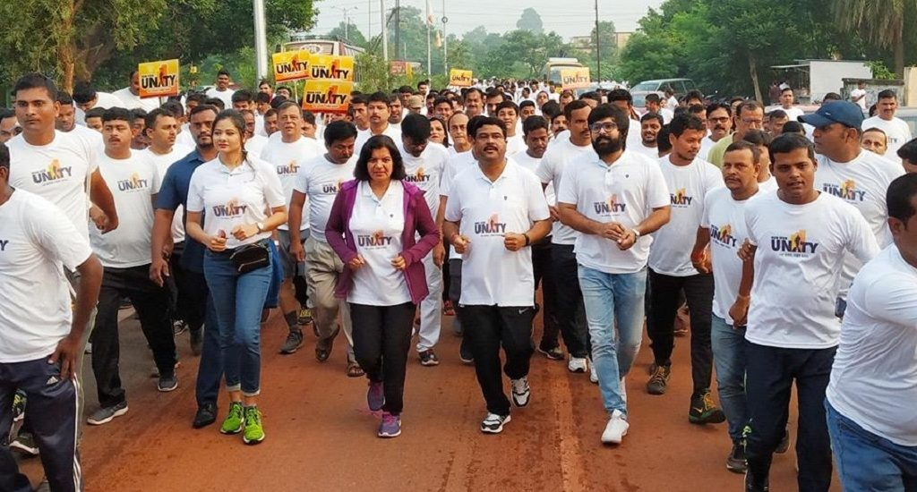 Thousands join Run for Unity in Bhubaneswar