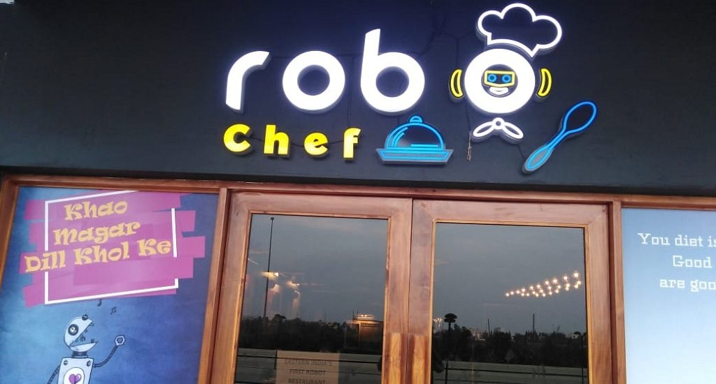 Robo Chef is the first Indian restaurant to use made-in-India robots (Special)