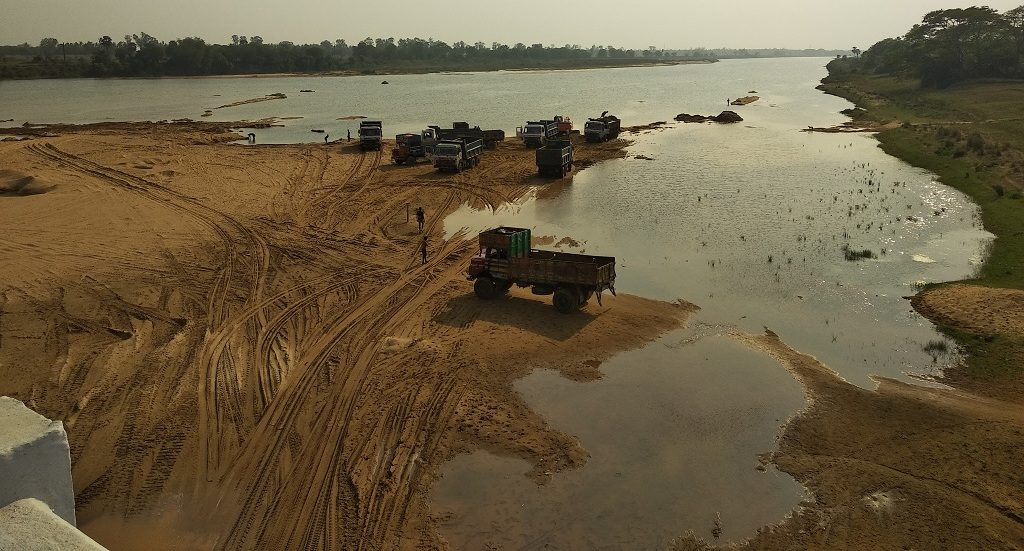 Green Bench restricts illegal sand mining on river Bramahani