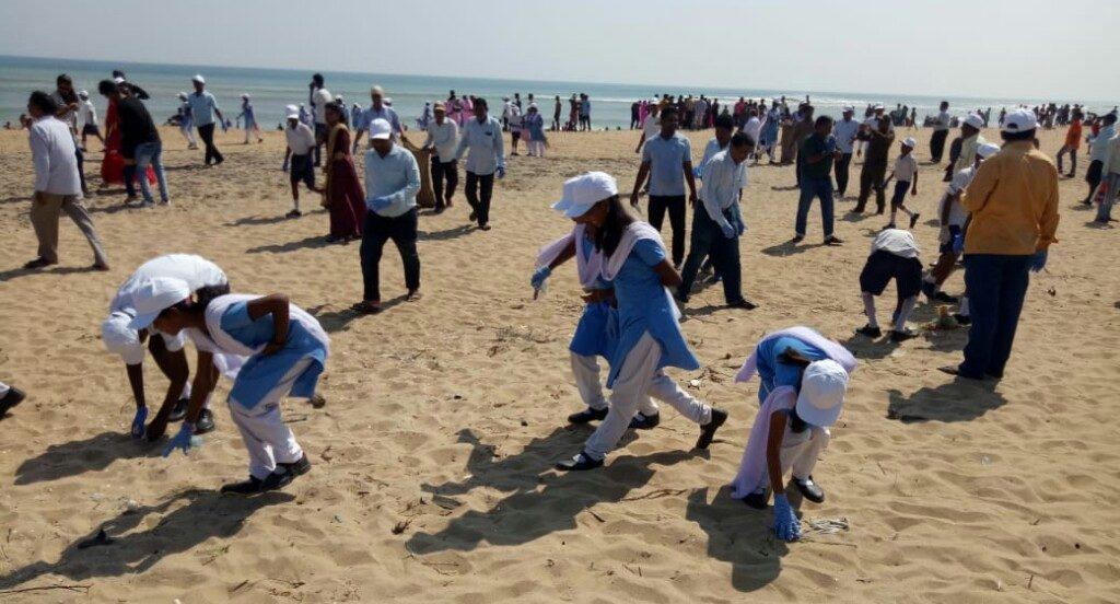 Swachh Nirmal Tat Abhiyan launched in Sonepur, Gopalpur beaches