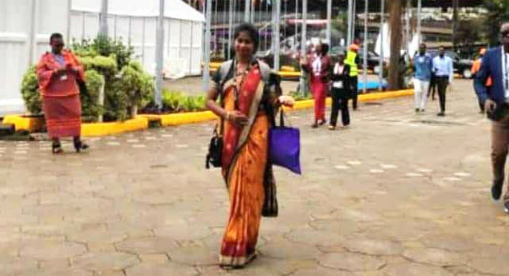 Slum girl rises above odds to represent Bhubaneswar in global summit