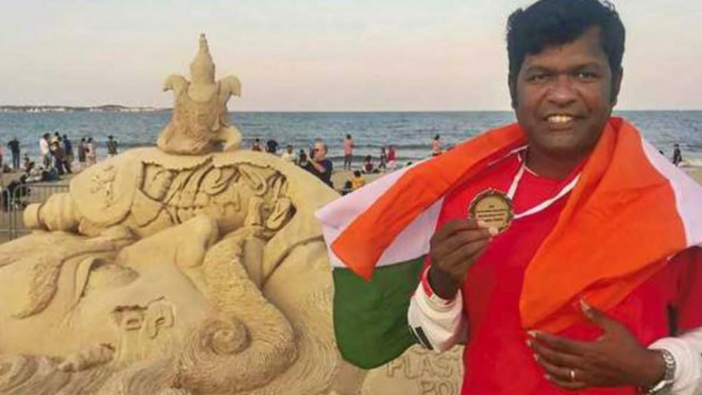 Sudarshan Patnaik first Indian to win prestigious Italian award on sand art