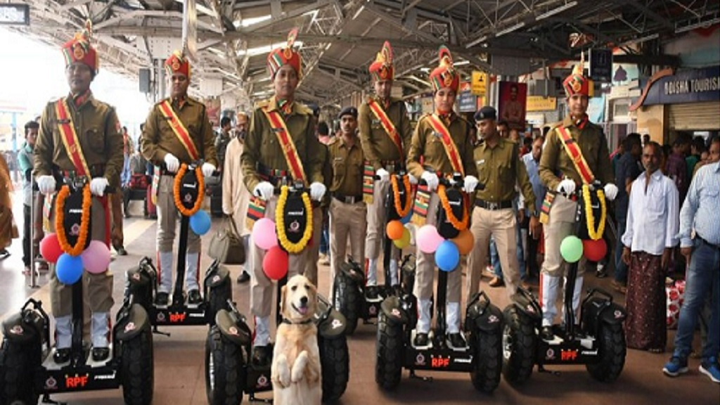 Segway security launched at Bhubaneswar rail station