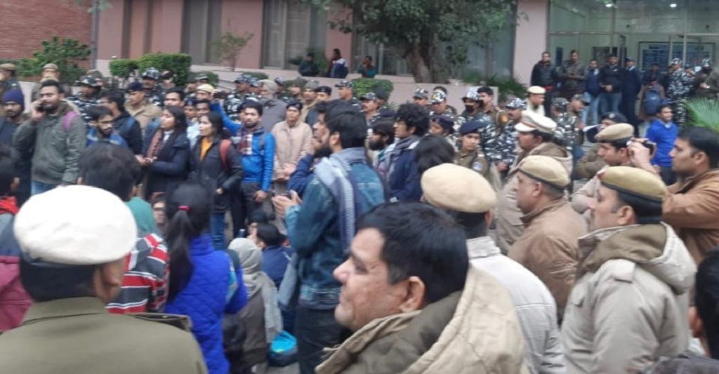 Protest triggers fear among Odias in Delhi