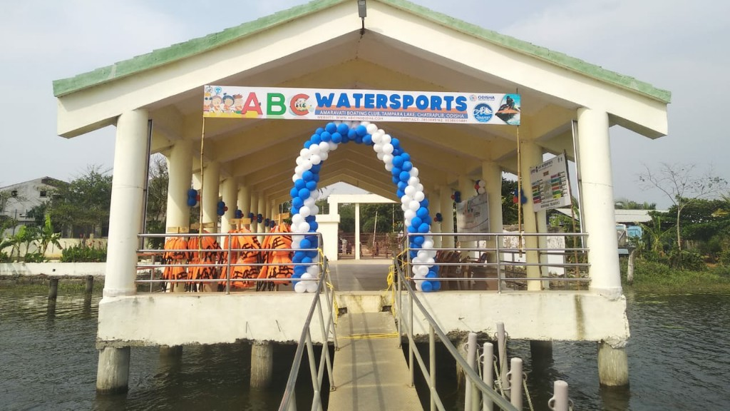 Water sports facility re-opened in Tampara