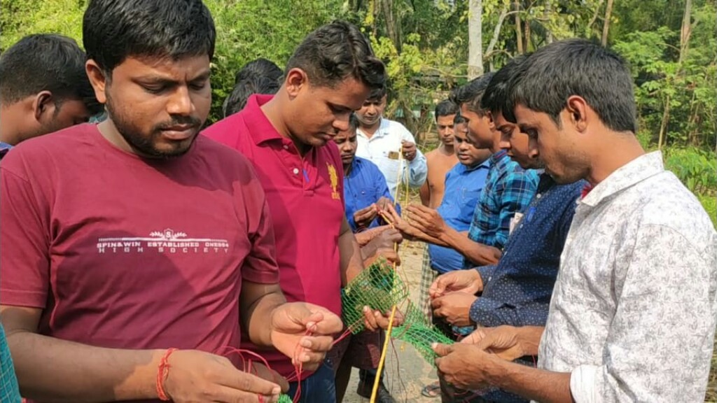 Freshwater pearl culture supplements farmers income in Baliapal