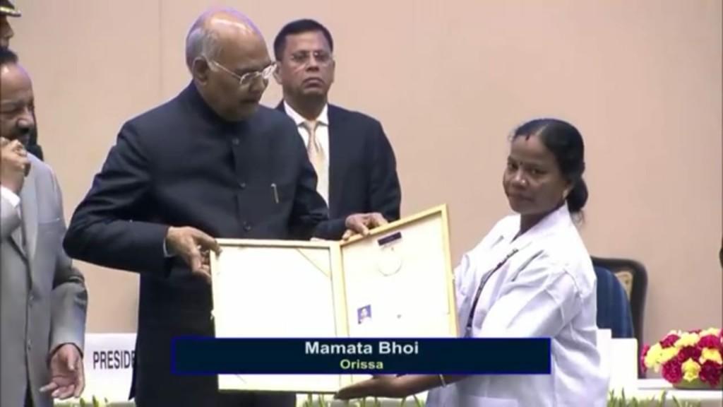 Odia nurse Mamata Bhoi gets National Florence Nightingale Award