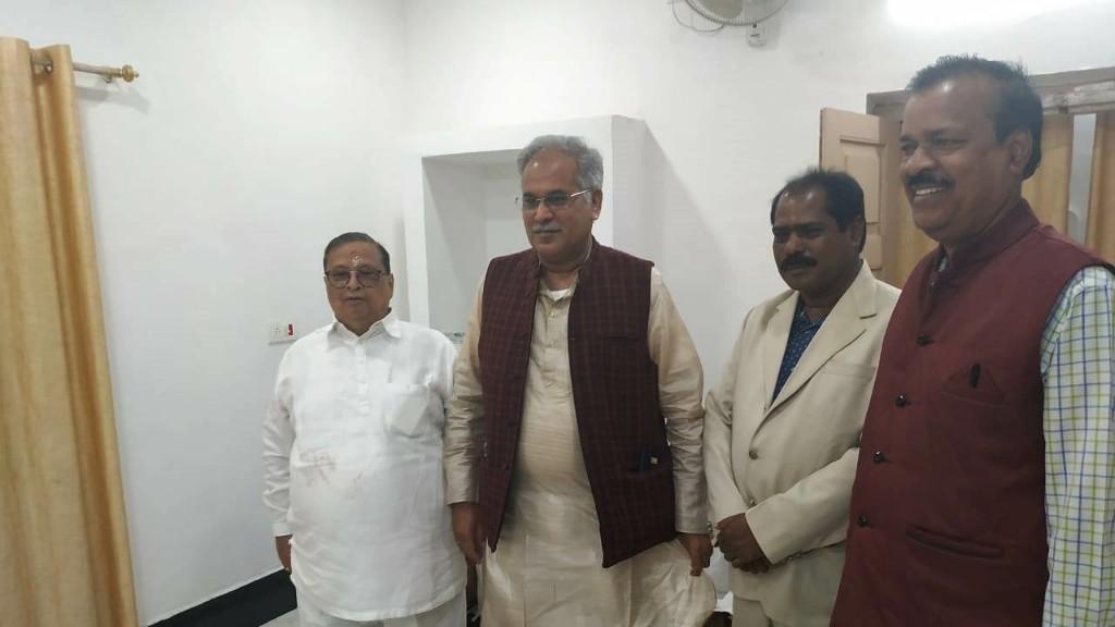 Chhatisgarh CM visits Maa Tarini temple in Keonjhar