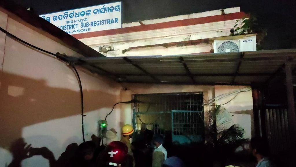 Fire breaks out in government office, documents gutted