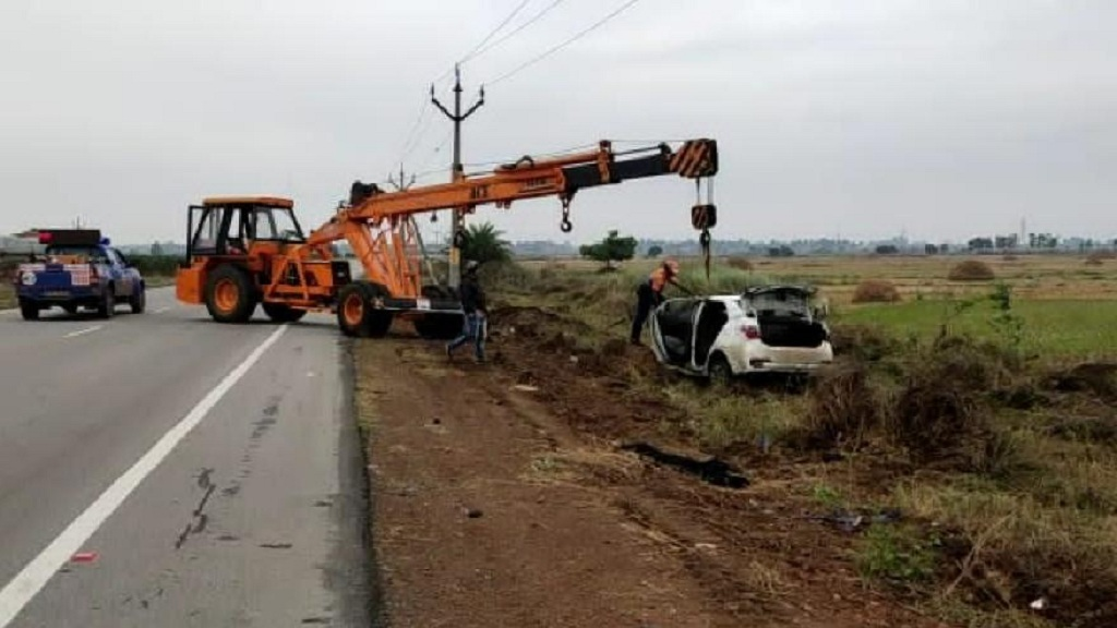 Five from Odisha dead as car plunges into canal in Andhra