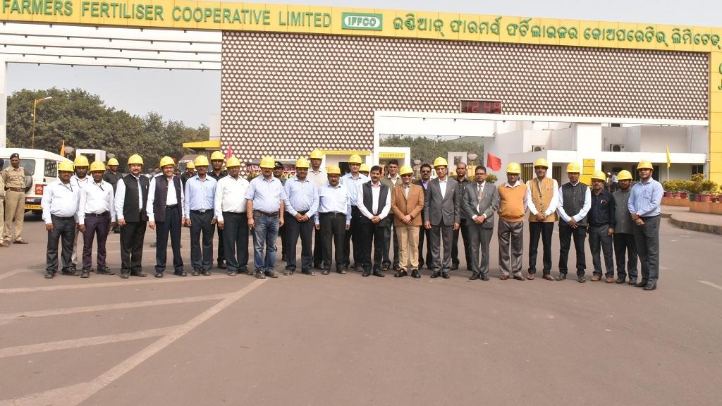 Fertiliser secretary visits IFFCO Paradeep plant