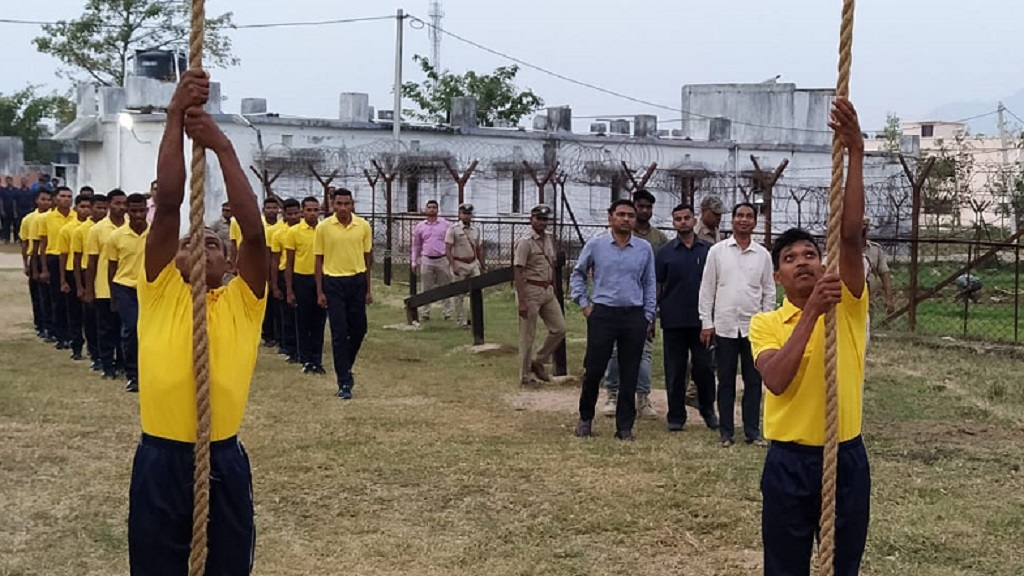 Gajapati police develop employability skills of tribal youths
