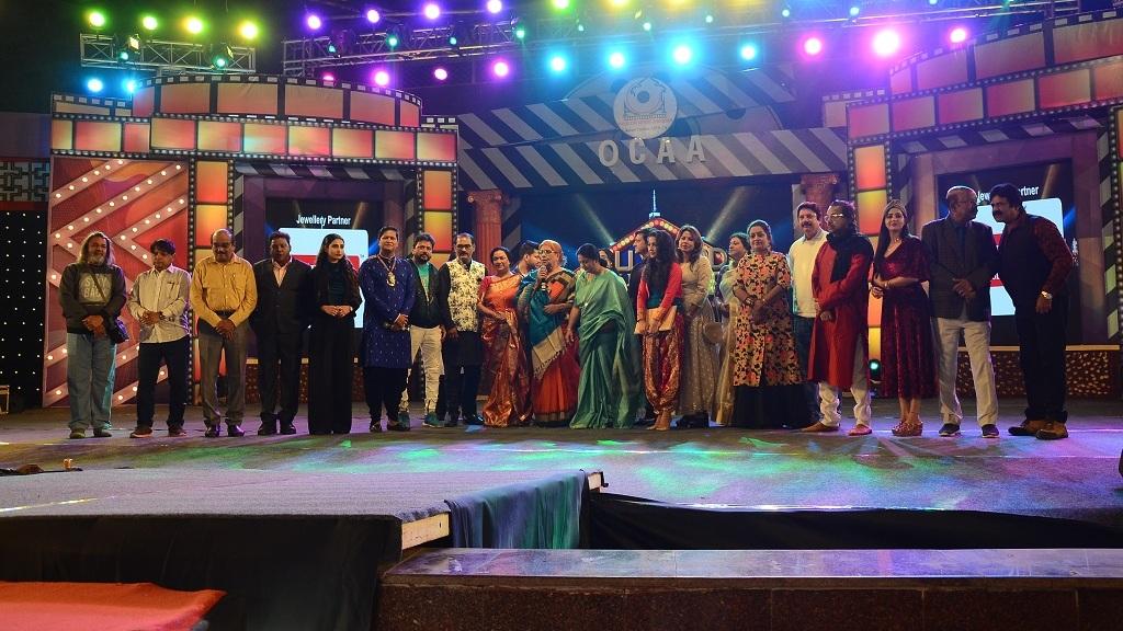 Veteran actress Namrata Das receives Bhumi Kanya Award