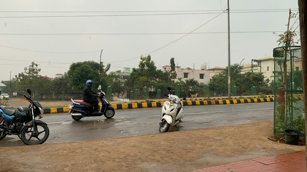 Overcast sky, light rain in many parts of Odisha
